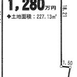 一宮市萩原町の【土地】不動産情報 IC-0199-2