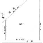 一宮市定水寺の【土地】不動産情報 IC-0205