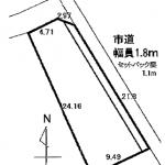 江南市松竹町の【土地】不動産情報 KO0148