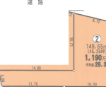 一宮市木曽川町の【土地】不動産情報 IC-0220-2