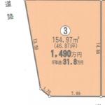 一宮市木曽川町の【土地】不動産情報 IC-0220-3