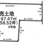 一宮市高田の不動産【土地】情報*IC-0279 2号地