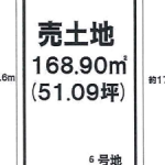 一宮市木曽川町【土地】情報*IC-0281★6号地