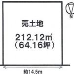 一宮市東加賀野井の【土地】情報*IC-0301(2号地)