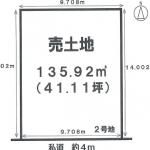 一宮市馬見塚の【土地】情報*IC-0306(2号地)