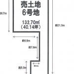 北名古屋市徳重本郷の【土地】情報*KI-0002(6号地)